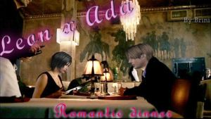Leon x Ada Romantic Dinner by Grichu-Ada-Kinney