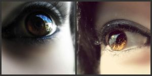 My eyes.. by MikkiMarie