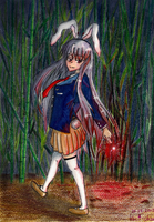 Reisen-Inaba of the Moon by Inalina