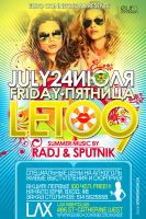 flyer for LETO9 by sounddecor