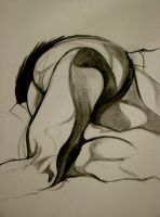 Life Drawing 2. by Sophabelle