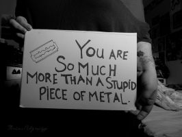 Self Injury Awareness 2014 by Michies-Photographyy