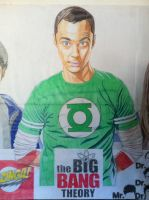 Jim Parsons : Sheldon Cooper by golhom