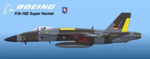 Luftwaffe Super Hornet 2 by Wolfman-053