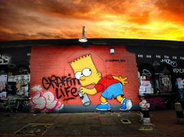 Graffiti Life by hotonpictures