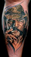 lemmy from motorhead by tat2istcecil