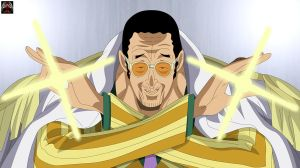 Kizaru - Shining Admiral by Xpand-Your-Mind