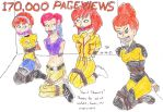 170,000 PAGEVIEWS April Showers by Godzilla713