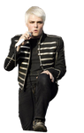 Gerard Way Black Parade Era Render 1 by CyanideTransmissions