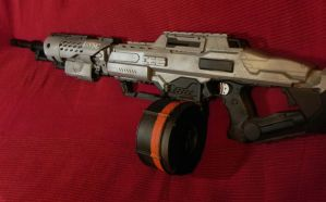 HALO light machine gun, Nerf by Sam-Castle