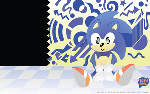 Sonic's 20th Wallapaper by ClassicTeam
