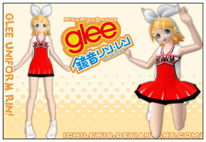 [MMD] GLEE Uniform Rin by IchiLewis