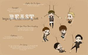 B2ST Wallpaper by Youkaaa