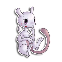 Baby Mewtwo by fuwante-chan
