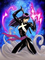 New Psylocke by MATT-A-NASHI