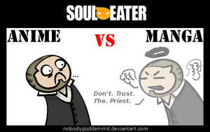 Soul Eater Anime vs. Manga : BJ by nobodygoddammit