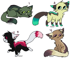 cheap kitty adoptables by link-ganon-adopts