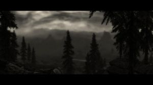 Rainy Whiterun by skyrimphotographer