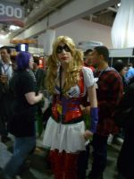 PAX East: Harley Quinn cosplay by Sane-Intolerant
