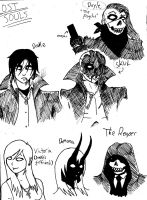 Lost Souls Characters Revamp 1 by UNlucky0013