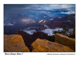 """Grand Canyon Storm 1"" by gwrhino"