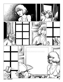 LULU Book 2 - Chapter 4 p. 77 Plain inks (pre-ltr) by JLRoberson