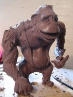 Louie WIP by SculptorSteve