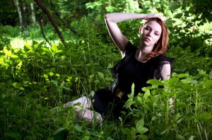 Emma in the Forest by Conjure-Photography