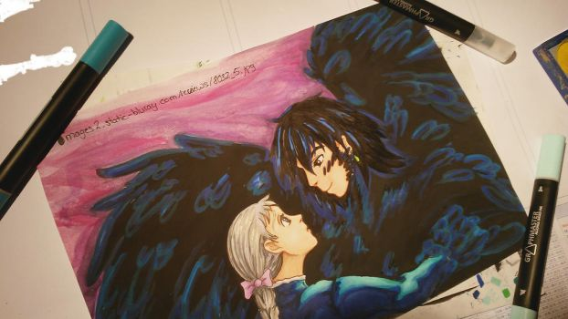 Howl's Moving Castle by Sefira-ry