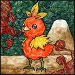 Torchic by LurkingSpork