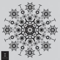Mandala [ I ] - Type Used : Courier New by jhogow