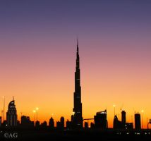 Dubai Twilight by abdulhamid-alattar