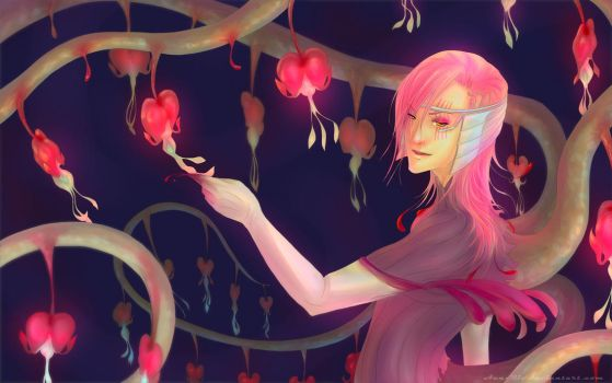 Bleeding Heart by Aen-Riv