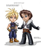 Cloud and Squall by dlin