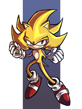Super Sonic by shadowtheultimate101