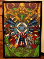 Avengers Duct Tape Art by DuctTapeDesigns