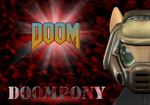 Doompony Card (Commission) by Neros1990