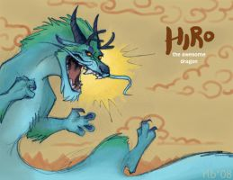 Hiro rawrs... in color :D by Kobb