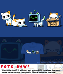 Woot Shirt - Meowbot 3000 by fablefire