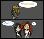 Tmnt: How are you sisters? by Jivra