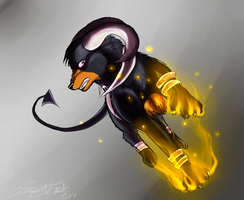Houndoom by animaldeathnote