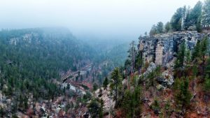Falling Rock Canyon by CharlieA-Photos