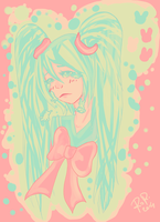 Miku-Palette challenge by ManamiBeam