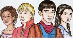 The Adventures of Merlin by talita-rj