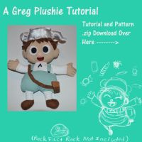OtGW Greg Plushie Tutorial and Patterns by DonutTyphoon