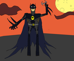 Bat-Man Redesign by TheUltimateSpiderFan