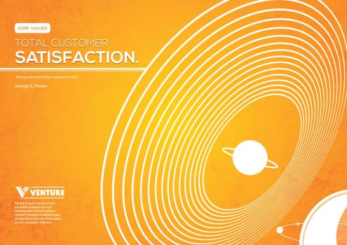 Satisfaction: Space Poster Series- Part 1 by louisana