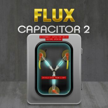 Flux Capacitor Icon 2 by cavemanmac