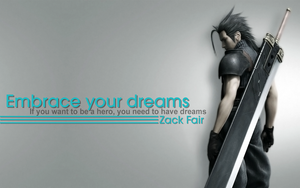 Zack Fair Phrase by Dame-Cruz