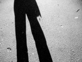 Shadowed Figure by saxondale